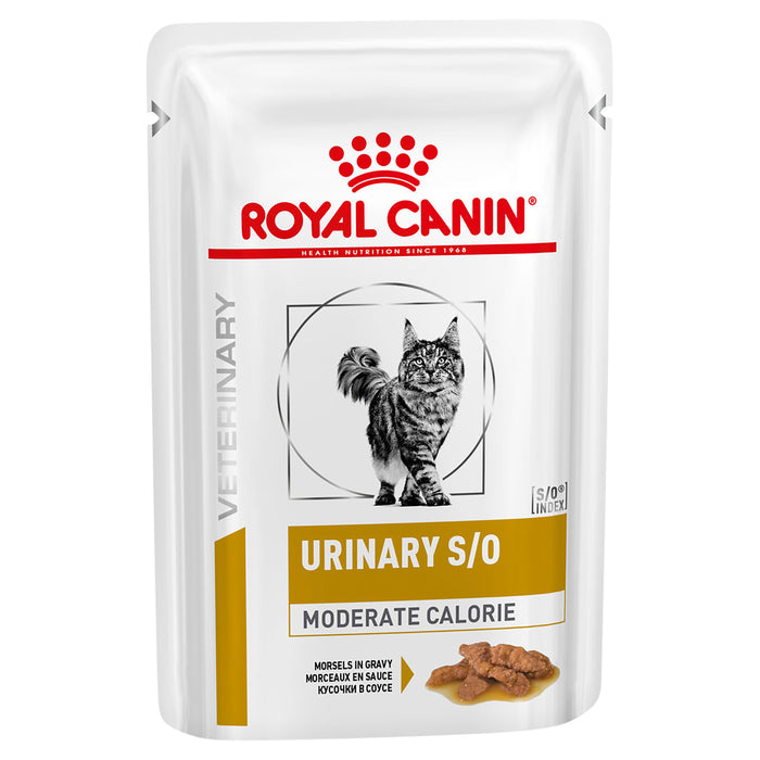 Royal Canin Urinary Moderate Calorie Pouch 85g x 12pk