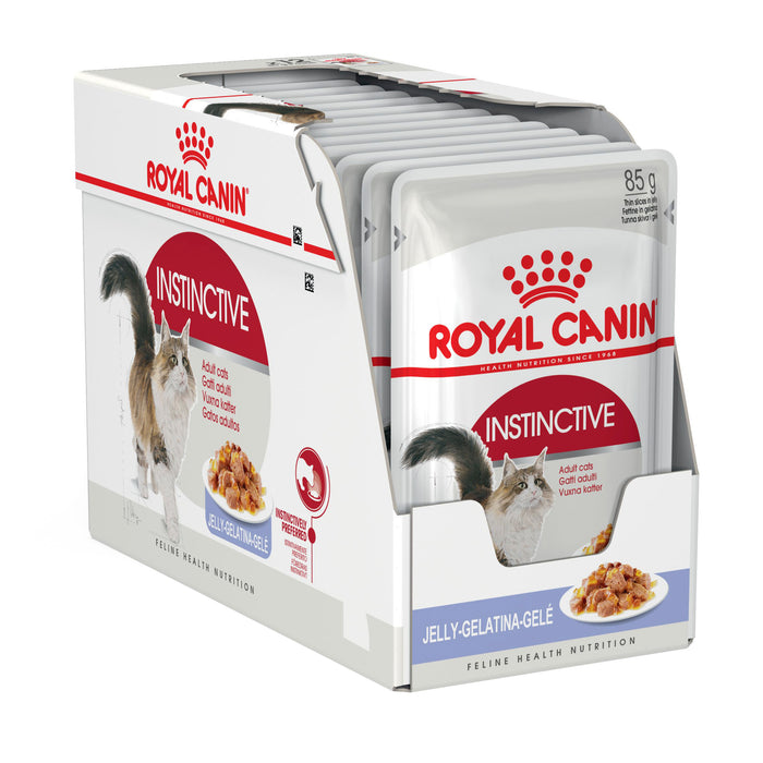 Royal Canin Instinctive Jelly pouches 12 x 85g