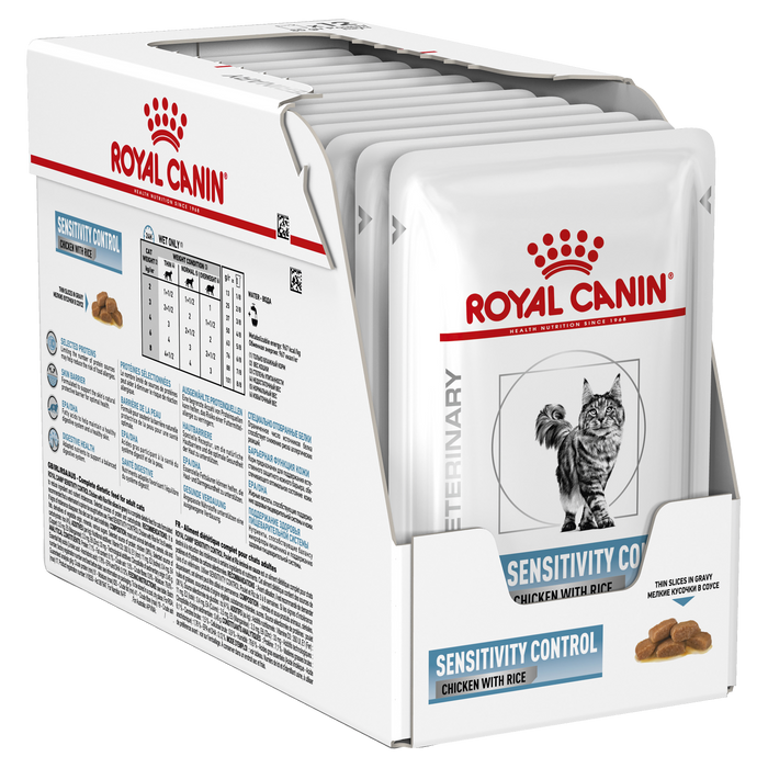 Royal Canin Sensitivity Control Chicken and Rice 85g x 12pk