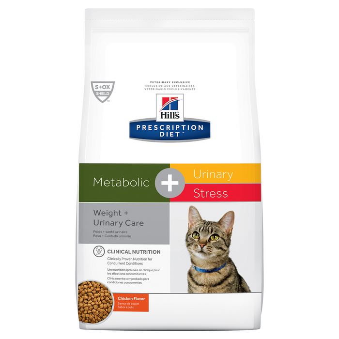 Hill's Prescription Diet Metabolic + Urinary Stress Dry Cat Food 2.88kg