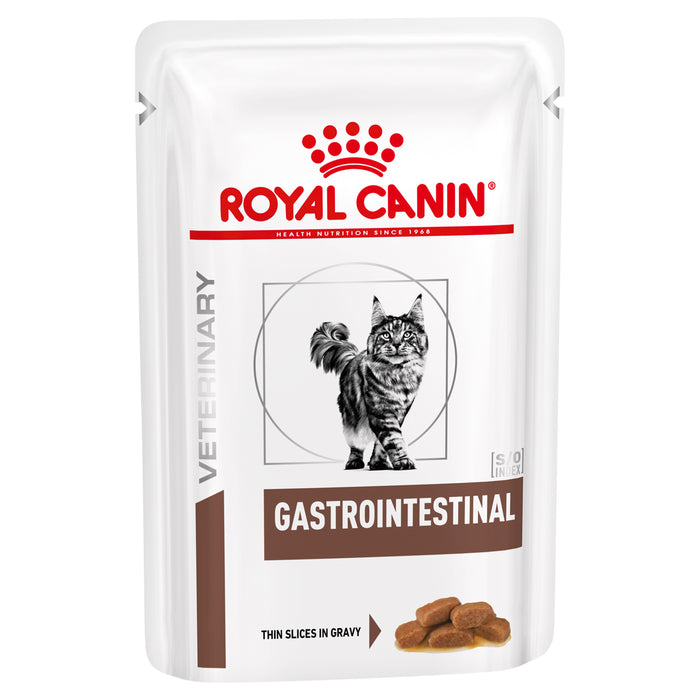 Royal Canin Feline Gastro Intestine pouches 12 x 100g