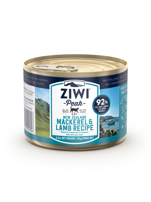 Ziwi Peak Canned Mackerel & Lamb Cat Food