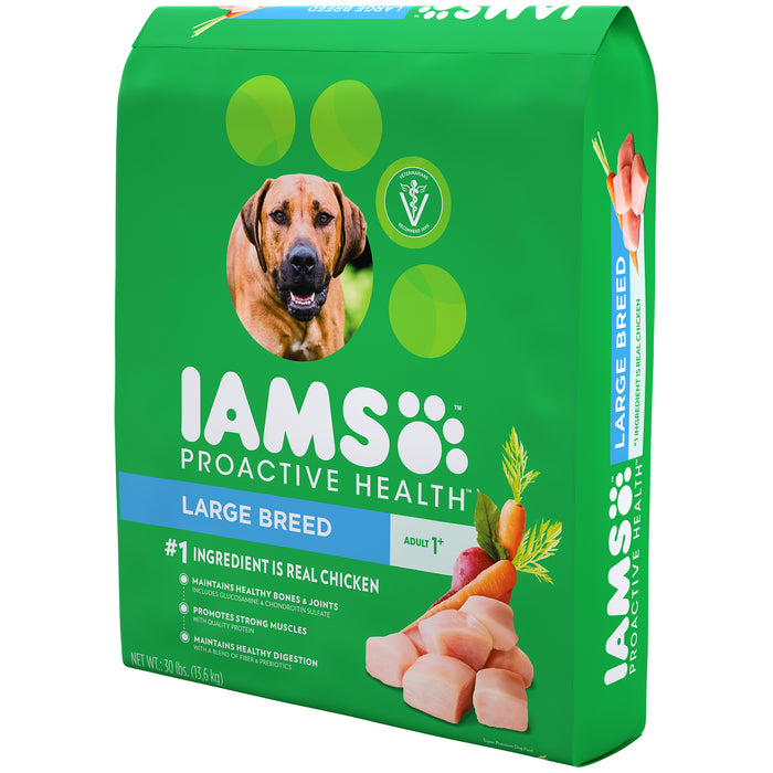 IAMS Proactive Health Large Breed Adult Dog Chicken 13.61kg