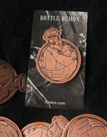 Round Bottle Demon Pin