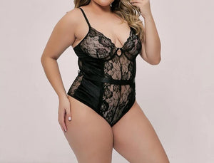 """Teddy"" Lace Negligee"