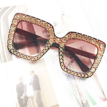 Oversized Square Retro Sunglasses