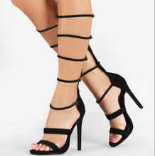"""Committed"" Knee High Sandals"