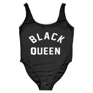 "Sexy ""Black Queen"" One Piece"