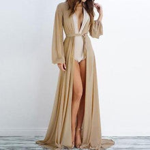 Long Chiffon Cover Up