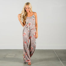 """All In"" Loose Drawstring Jumpsuit w/ Pockets"