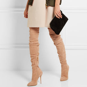 """Pressure"" Thigh-High Boots"