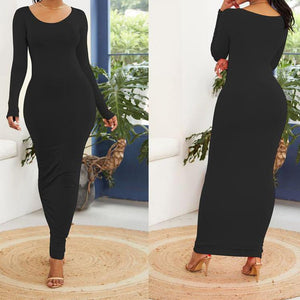 """Trudy"" Long Sleeve Maxi"