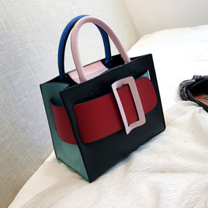 Leather Mini Tote