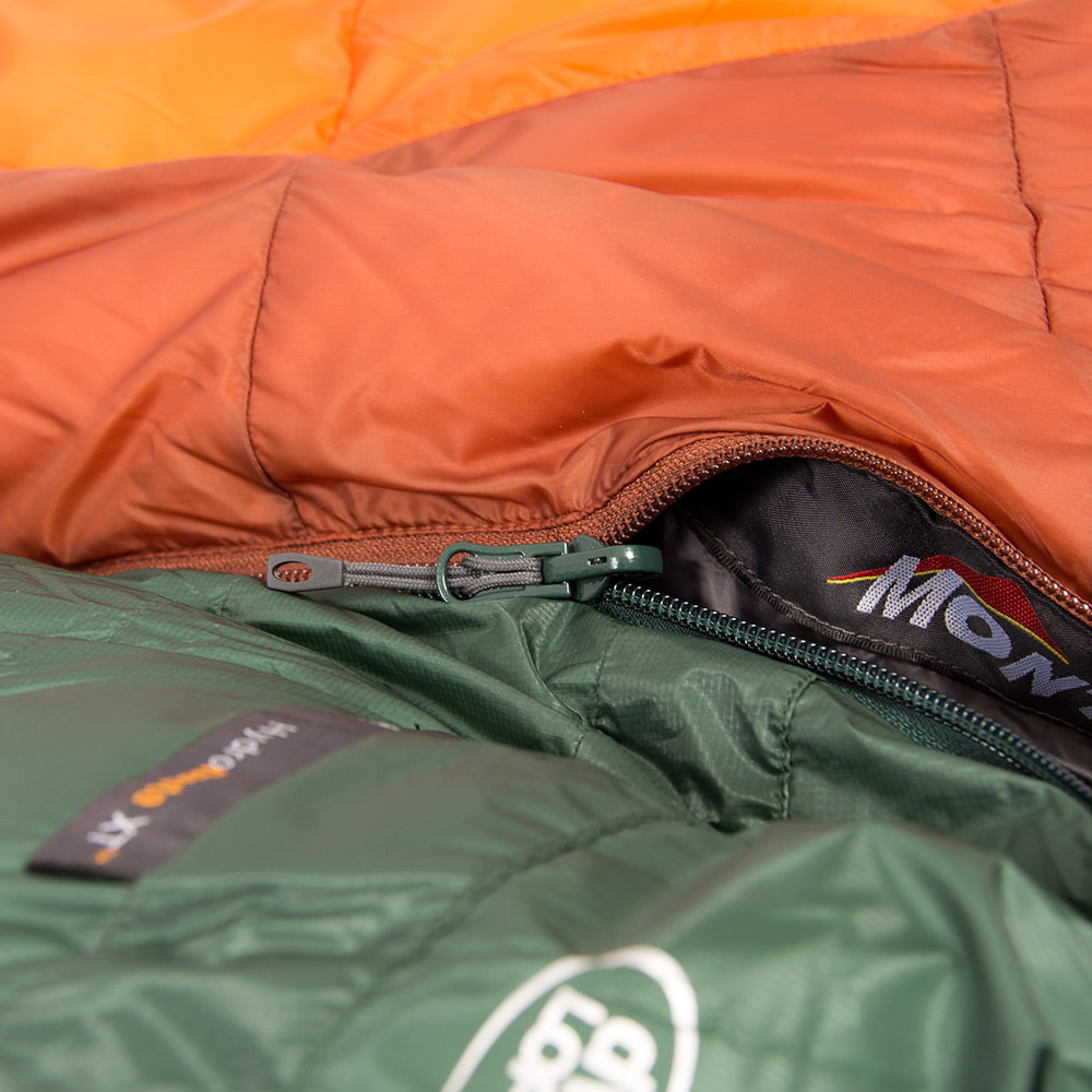 Why do sleeping bags have left & right zips & which do I choose?