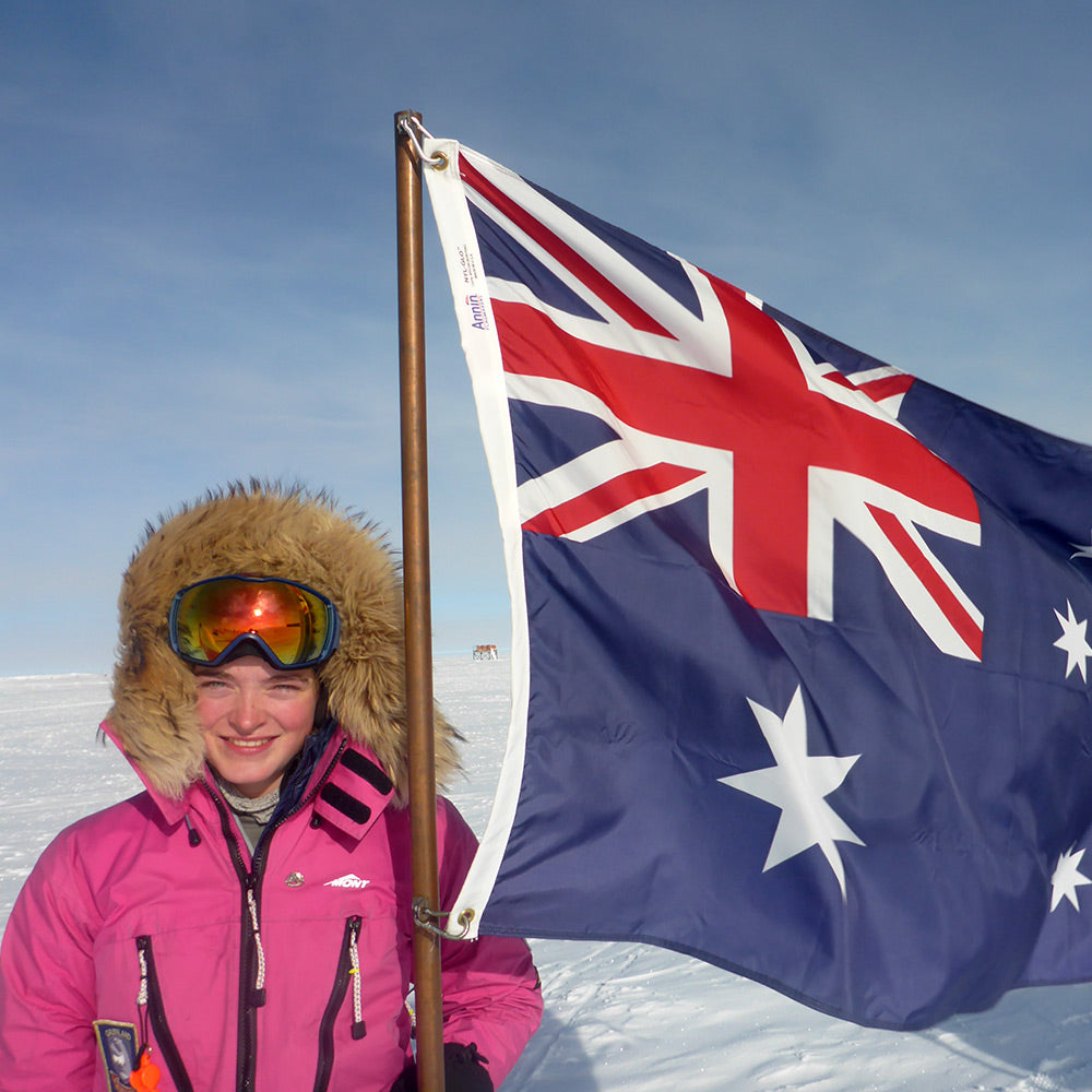 14yr old Polar Explorer Jade Hameister on Triple J this afternoon