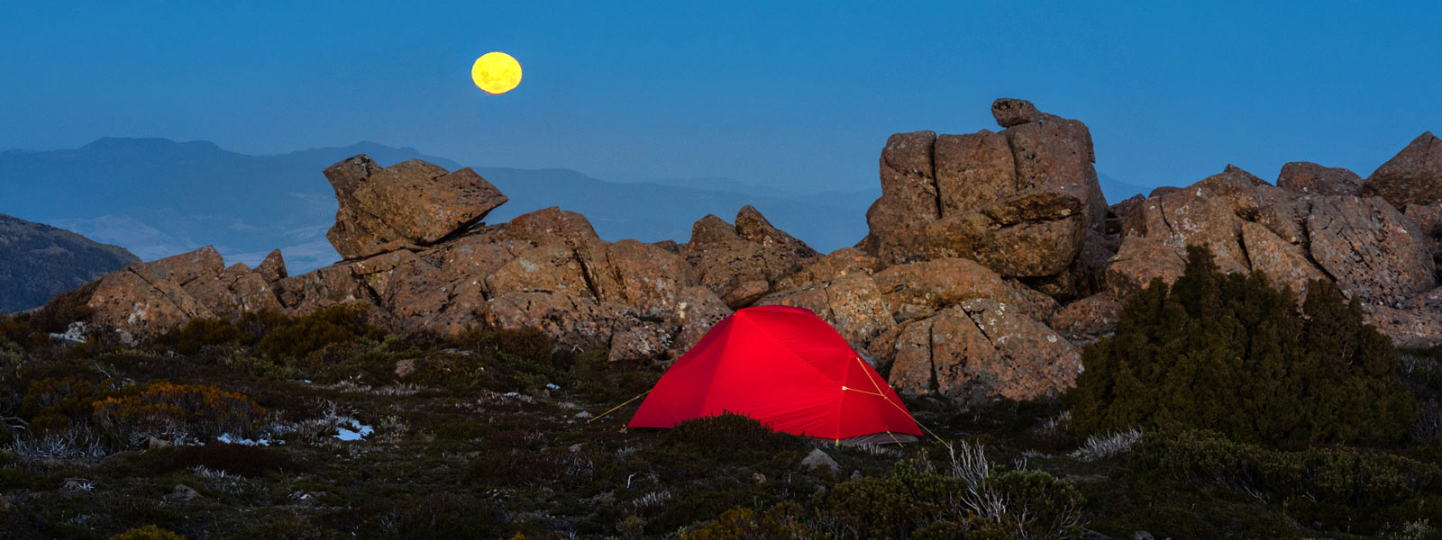 The Mont Moondance 1 Tent, Rodway Range, Tasmania. By Geoff Murray