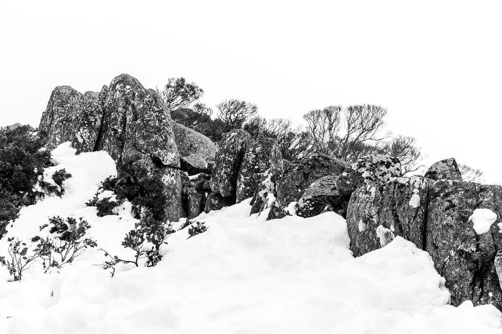 Snow at Stockyard Spur, ACT. By Alex Orme