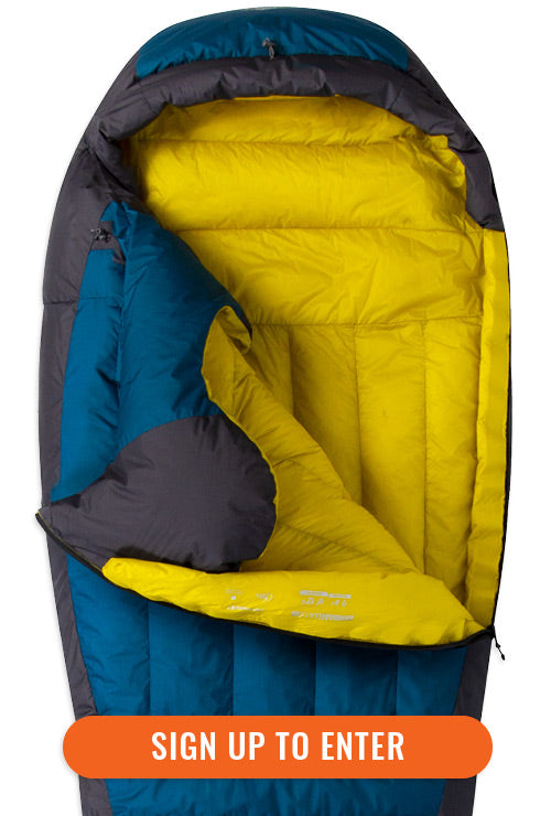 Sign up to the Mont Newsletter for your chance to Win a Mont Brindabella XT 700 Down Sleeping Bag