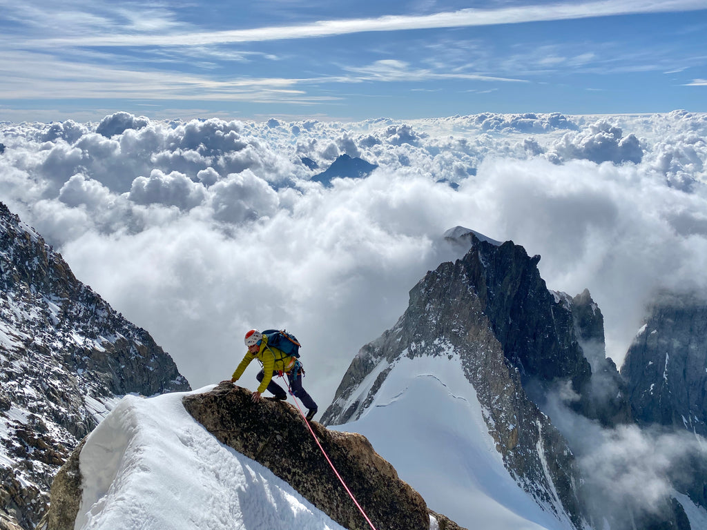 Central Pillar of Freney on Mont Blanc