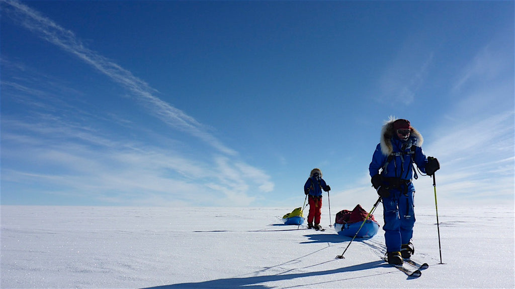 Mont Ambassador Eric Philips and co, South Pole.