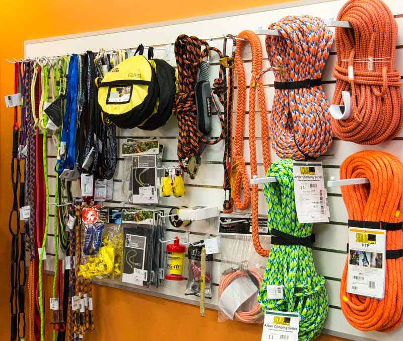 A huge range of industrial rope, harnesses and protection
