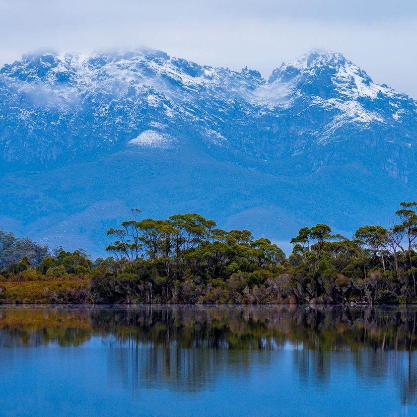 Mountains in Tasmania. By Geoff Murray
