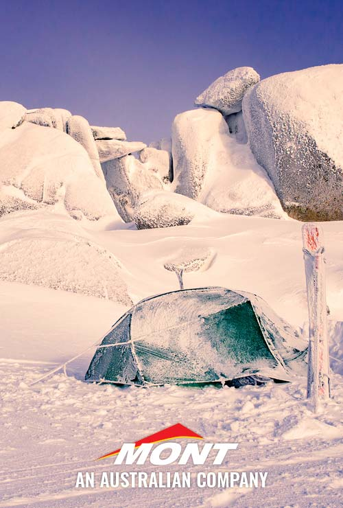 Mont Dragonfly Tent on the NSW Snowy Mountains. By Nick Hall.