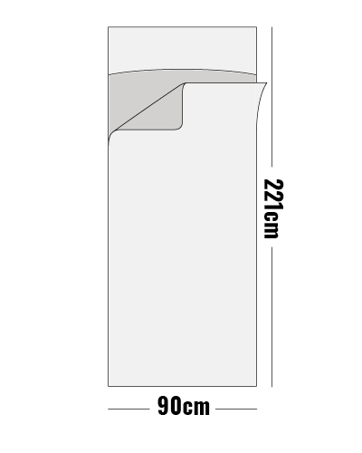 traveller inner sheet size