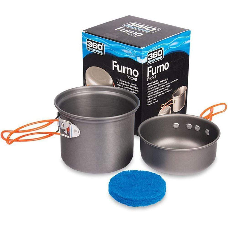360 Degrees Other Gear 360 Furno Pot Set 360FURNOPOTS