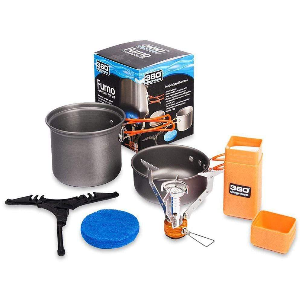 360 Degrees Other Gear 360 Furno Stove and Pot Set 360FURNOSET