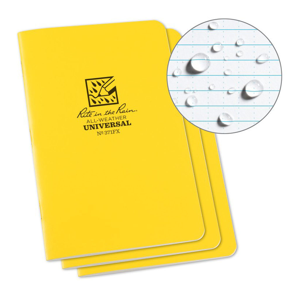Rite In The Rain All Weather Stapled Notebook