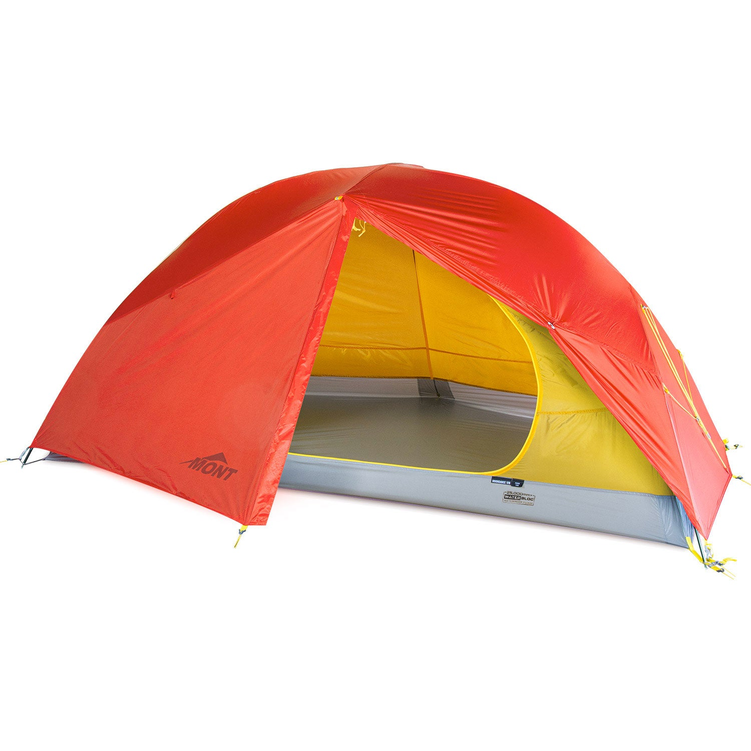 Moondance 1 Full Nylon 1 Person sub-alpine 4 season tent with fly door and inner door open
