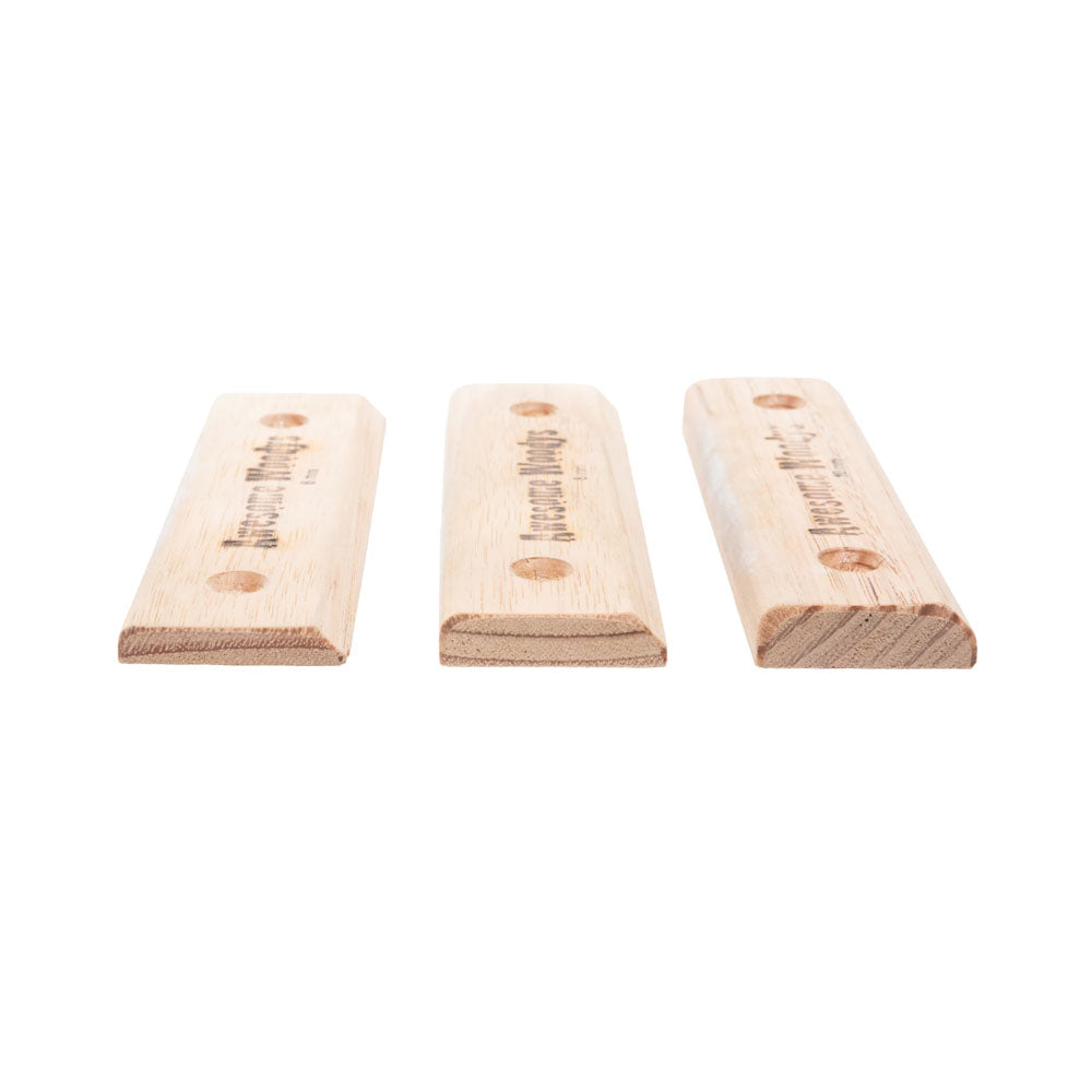 Awesome Woodys Edgies Set Small (6mm, 8mm, 10mm)