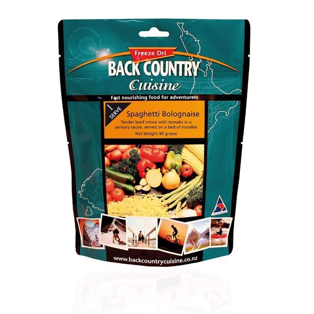 Back Country Food : Food GST NA Back Country Food Spaghetti Bolognaise