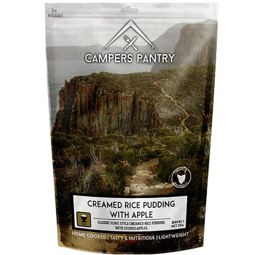 Campers Pantry Food : Food GST NA Campers Pantry - Creamed Rice Pudding with Apple CPRICEAP