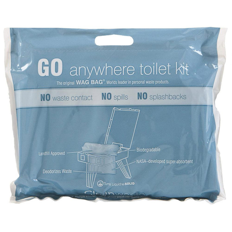 Cleanwaste Other Gear Wag Bag - Go Anywhere Toilet Kit MIR-D019W