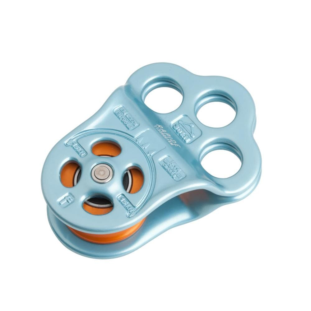 DMM Industrial DMM Triple Attachment Pulley Rapide One Size / Light Blue DMMPUL100RAPIDE