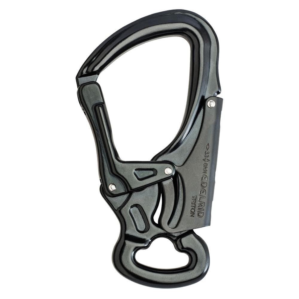 Edelrid Industrial Edelrid DSG Triton Double Action Snap Hook Night EDL882420000170