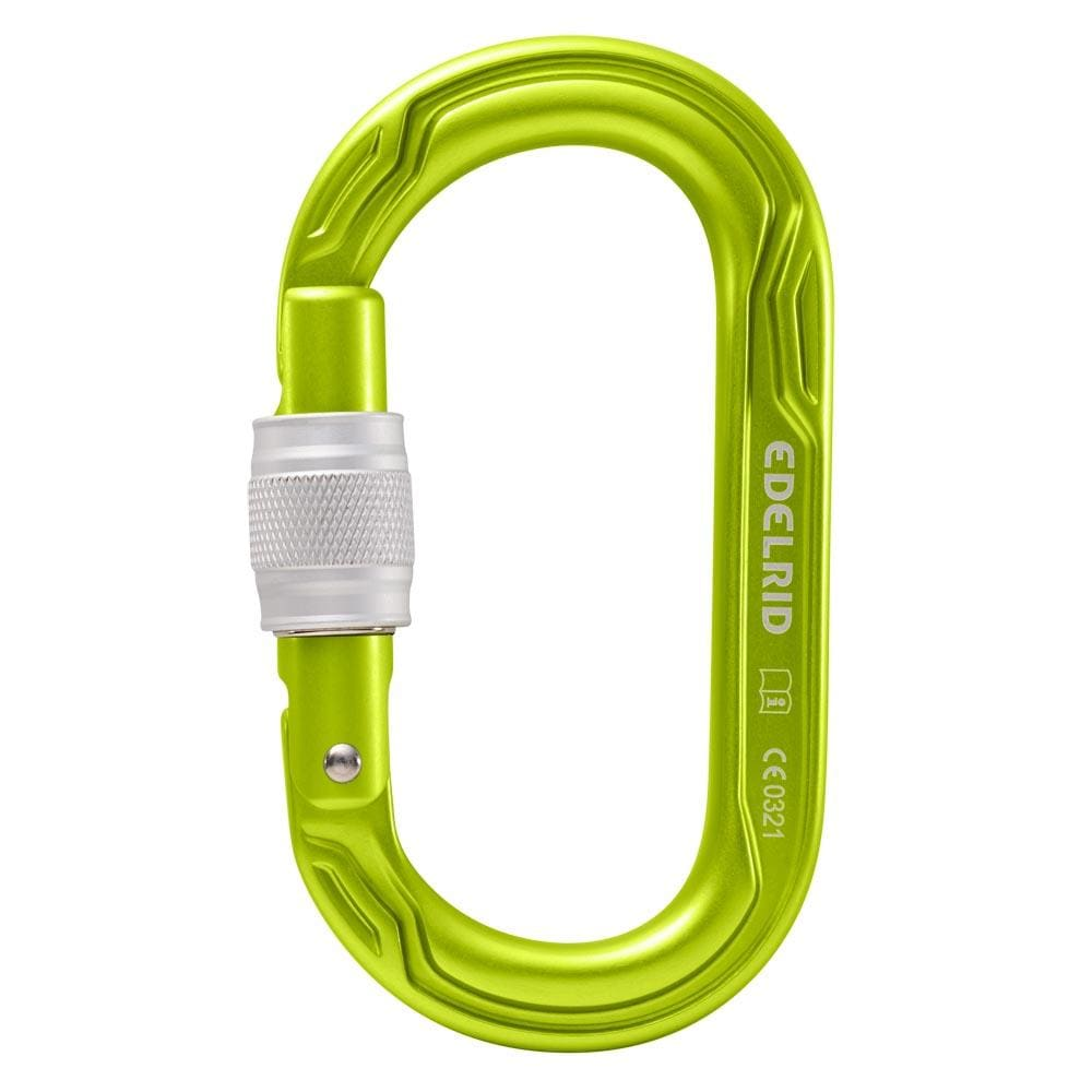 Edelrid Other Gear Edelrid Oval Power 2500 Screw Oasis EDL882650001380