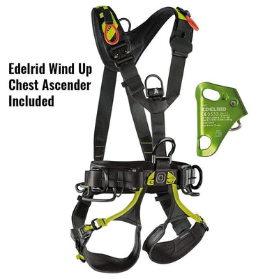 Edelrid Industrial Edelrid Vertic Triple Lock with Wind Up Ascender