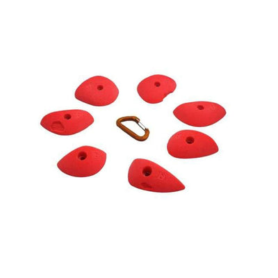 Fixe Fixe Duck Beaks Slopers Climbing Holds 7 Pack Orange TRR00161-O