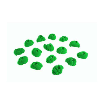 Fixe Fixe Meteorites Climbing Holds 15 Pack Green TRR00159-G