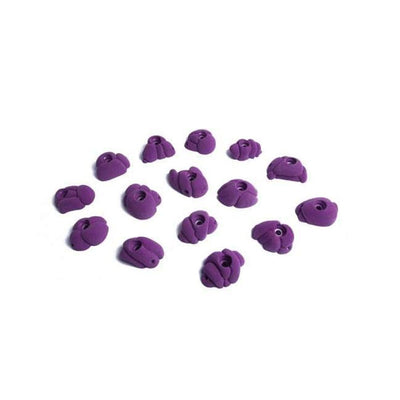 Fixe Fixe Meteorites Climbing Holds 15 Pack Purple TRR00159-V