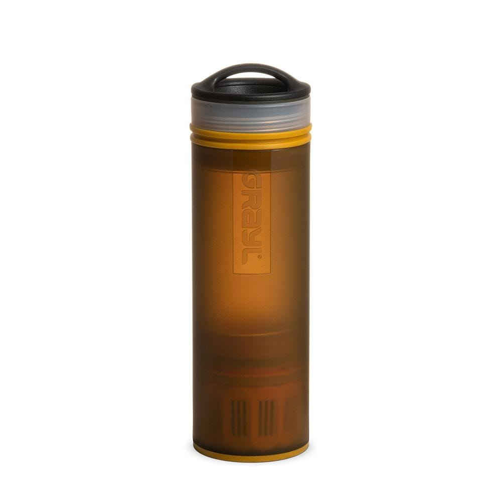 Grayl Other Gear Grayl Ultralight Compact Purifier Bottle Coyote Amber ULC-01-CA