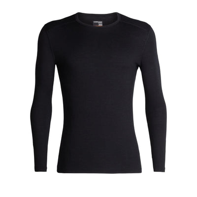 Icebreaker Other Gear Icebreaker 200 Oasis LS Crewe Men LG / Black 104365001L