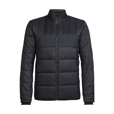 Icebreaker Other Gear Icebreaker Stratus X Jacket Men Clearance LG / Black/Jet Heather 103877001L