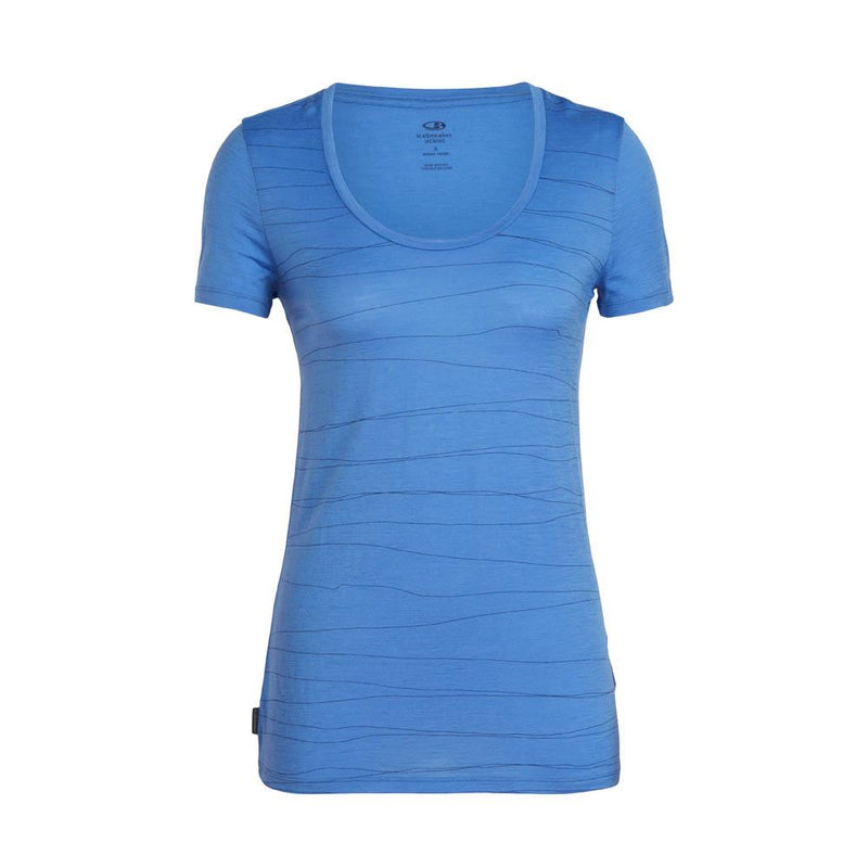 Icebreaker Other Gear Icebreaker Tech Lite SS Scoop Tee Women Clearance LG / Aqua Splash 104687402L