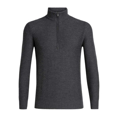 Icebreaker Other Gear Icebreaker Waypoint LS Half Zip Men LG / Charcoal Heather 104901022L