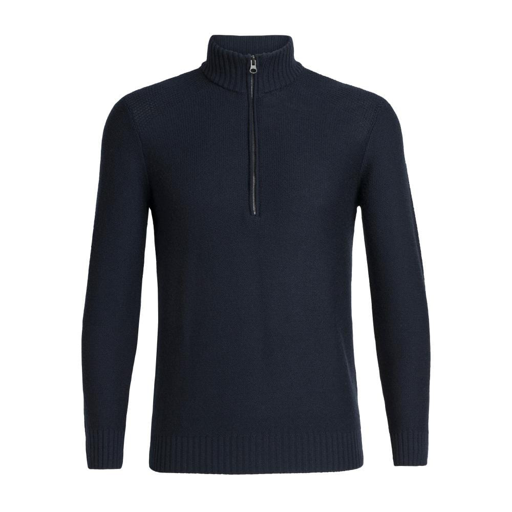 Icebreaker Other Gear Icebreaker Waypoint LS Half Zip Men LG / Midnight Navy 104901423L