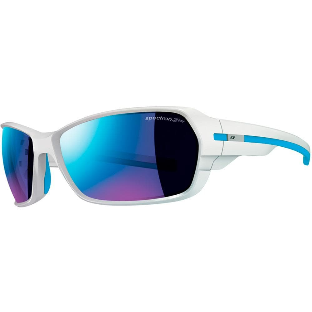 Julbo Other Gear Julbo Dirt 2 Sunglasses Shiny White/Blue Spectron 3 CF J4741111
